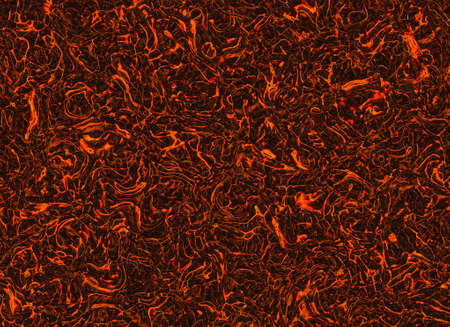 overheated: solidified hot coal fire texture background