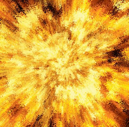 detonation: fire burst texture backgrounds. motion blur effect