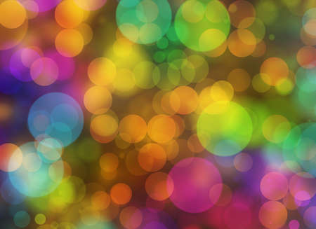 chaotic: Holiday blur manycolored defocused rounds bokeh backgrounds in Chaotic Arrangement