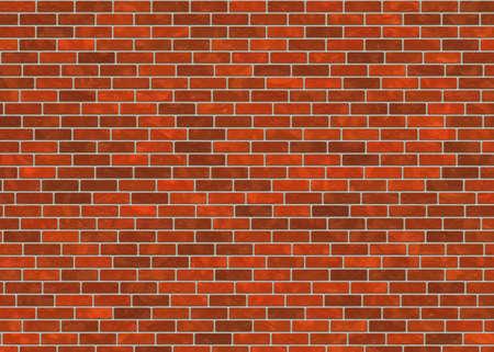 hi-res red small brick wall pattern