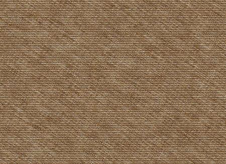 osnaburg: blank brown sackcloth background texture Stock Photo
