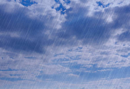 rain storm: rain storm background in cloudy weather