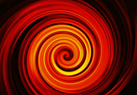 irradiate: twirl motion of bright explosion flash on black background. Motion blur effect Stock Photo