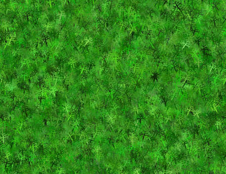 hires: lush green trees branchy thorn hi-res background. top view