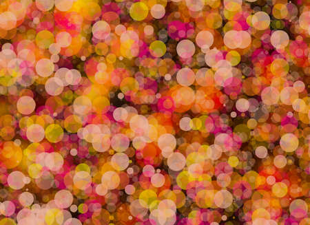 rounds: Manycolored rounds bokeh backgrounds in Chaotic Arrangement