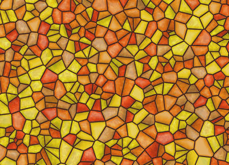 colored window: stained-glass multi colored window background