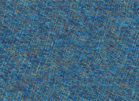 manmade: Blue old shabby denim jeans texture Stock Photo
