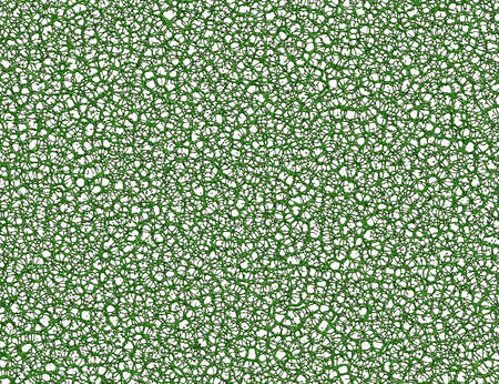 thickets: abstract net of green cells on white background Stock Photo