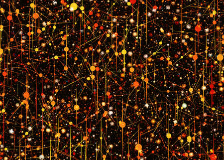 dreamy: many dreamy science shapes. microcosm backgrounds
