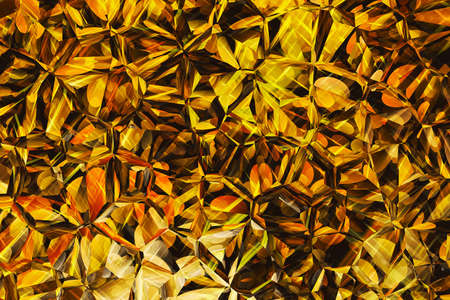 golden colored relief crystal background