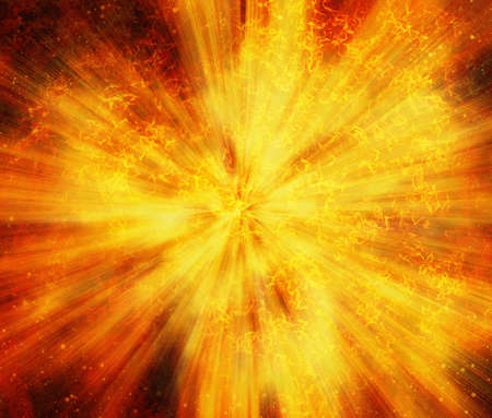 shockwave: bright explosion fire speed burst backgrounds in space stars