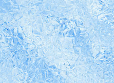 relief blue glass crystal background