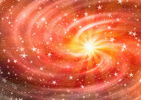 white flash in dreamy space stars backgrounds