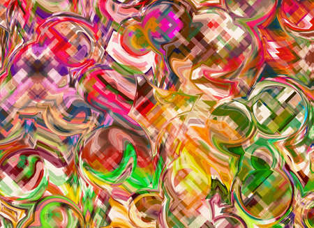 Abstract art Pattern Multicolored color Background