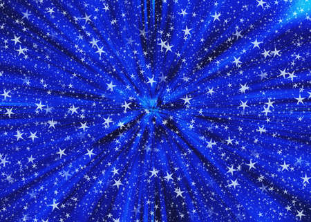 Fantastic stars space speed background