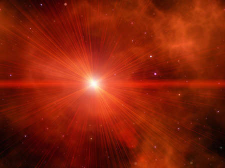 beauty space star flash backgrounds Stock Photo