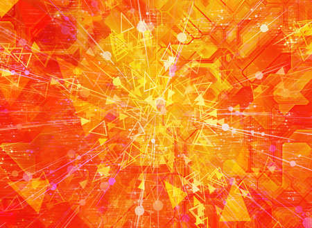 abstract digital world multilayer backgrounds