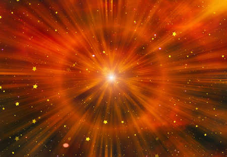 beauty space stars flash background Stock Photo