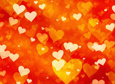 abstract dreamy hearts backgrounds