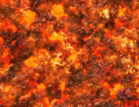 heat red lava background of eruption volcano