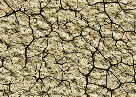 many cracked dry desert background
