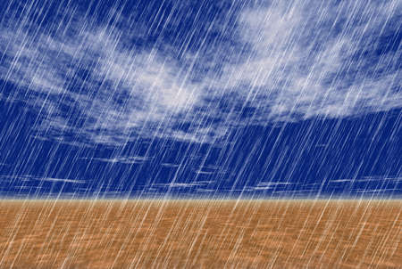 rain storm backgrounds in cloudy weather Banque d'images