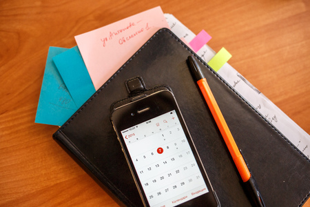 an organizer: office, organizer, notebook