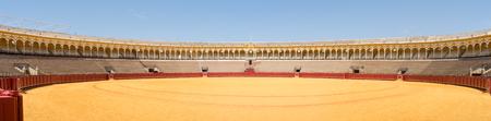 The Plaza de toros de la Real Maestranza de Caballería de Sevilla