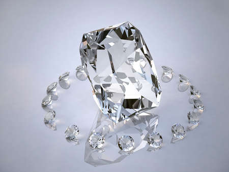 Diamond in a ring from diamonds photo