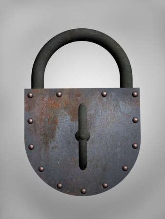 Door-lock on a white background Stock Photo - 10600754