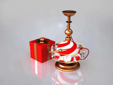Christmas hookah photo