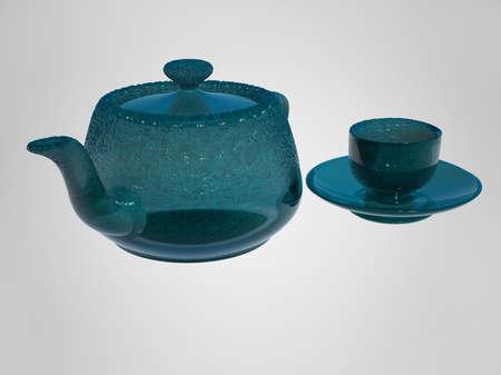 teapot & cup photo