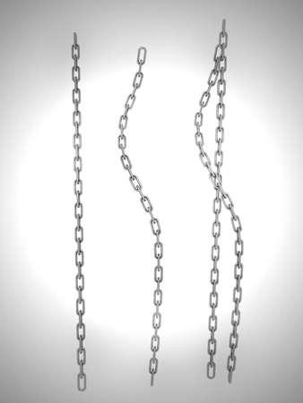 silver chain Stock Photo - 10600730