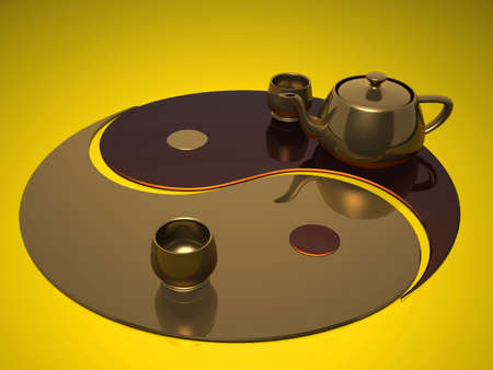 dao: Tea ceremony on a sign dao