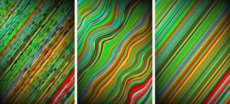 Abstract distort Rainbow backgrounds Vector