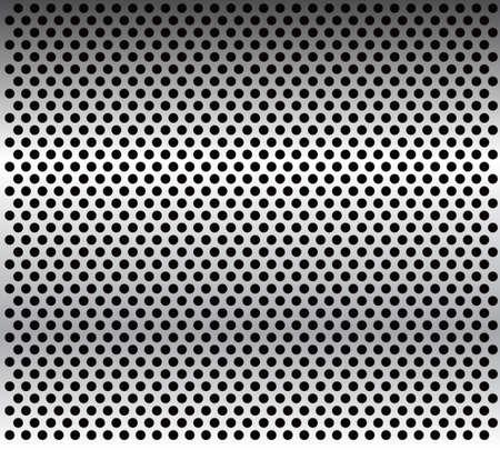 그리드: 금속 격자 배경 - vector.Metal 질감. 일러스트