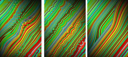 distort: Abstract distort Rainbow backgrounds