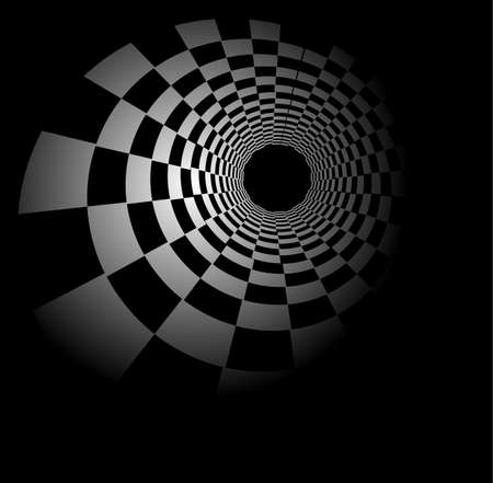 checker board: Radial chess background
