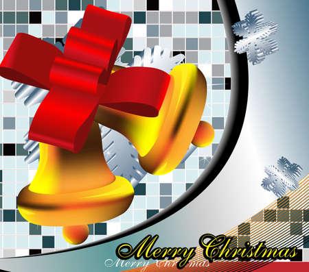 Christmas bells. Vector