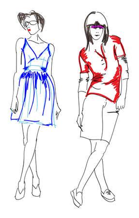 staying: SKETCH. fashion girls