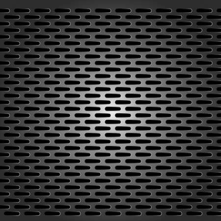 metal grid - seamless background Vector