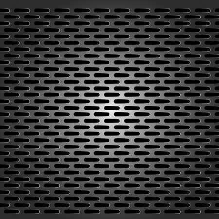 metal grid - seamless background