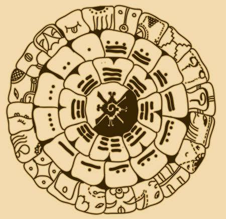 Maya symbol Vector