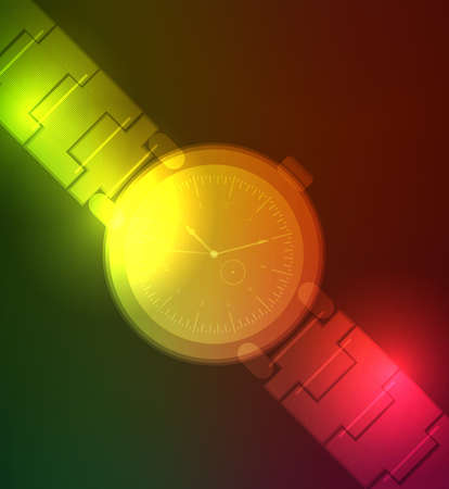 cover background time: neon clock background