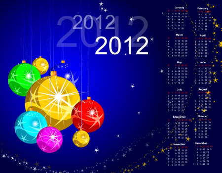 abstract background for new year and for Christmas colorful design Vector
