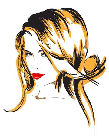 avatars: bellezza ragazza faccia