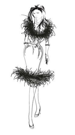 highfashion: SKETCH. fashion girls