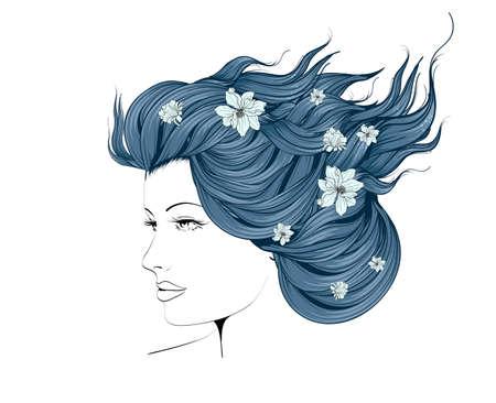 Sketch of Fashion style. Illustration