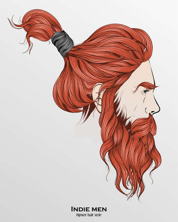 Beard Sketch Stock Photos And Images 123rf