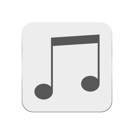 crotchets: note icon Illustration